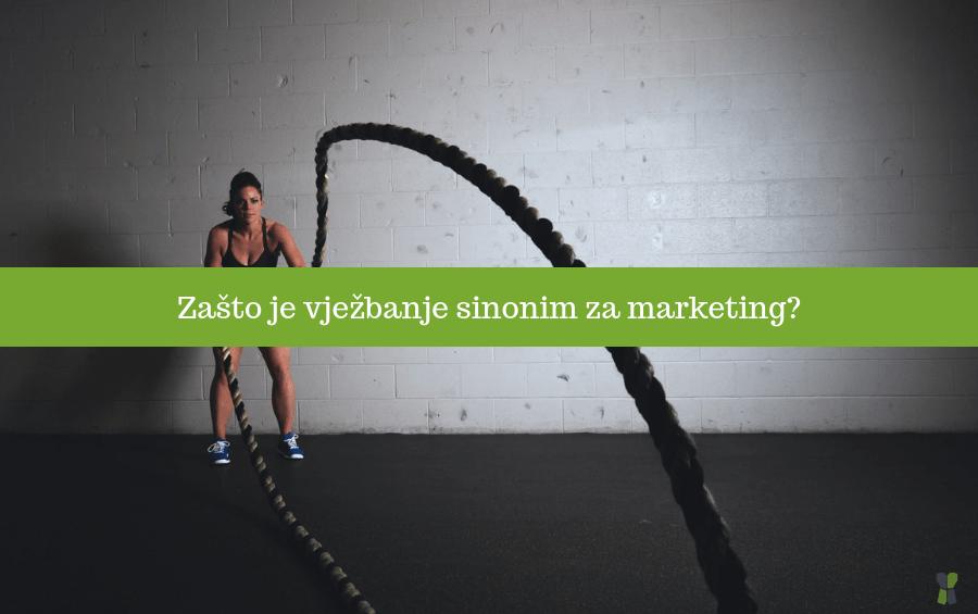 Zašto je vježbanje sinonim za marketing?