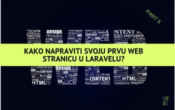 Kako napraviti svoju prvu web stranicu sa PHP frameworkom Laravel – Part 5 (CURD)