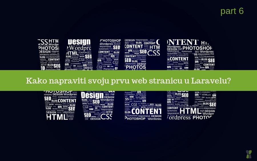 Kako napraviti svoju prvu web stranicu sa PHP frameworkom Laravel – Part 6 (Create and Store)