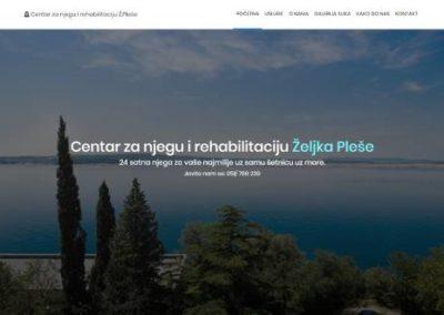Centar za njegu i rehabilitaciju Pleše